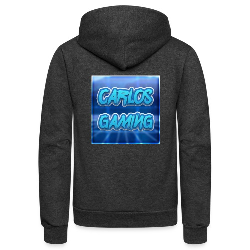 Carlos Gaming merchandise - Unisex Fleece Zip Hoodie