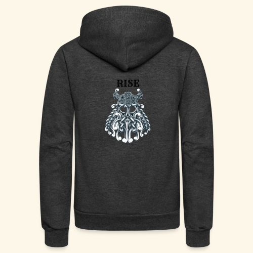 RISE CELTIC WARRIOR - Unisex Fleece Zip Hoodie