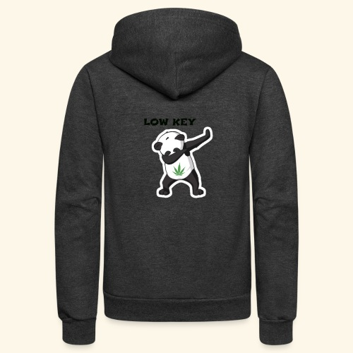 LOW KEY DAB BEAR - Unisex Fleece Zip Hoodie
