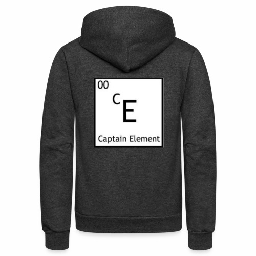Captain Element Logo - Unisex Fleece Zip Hoodie