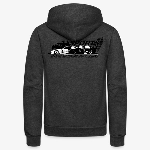 official sports sedans - Unisex Fleece Zip Hoodie
