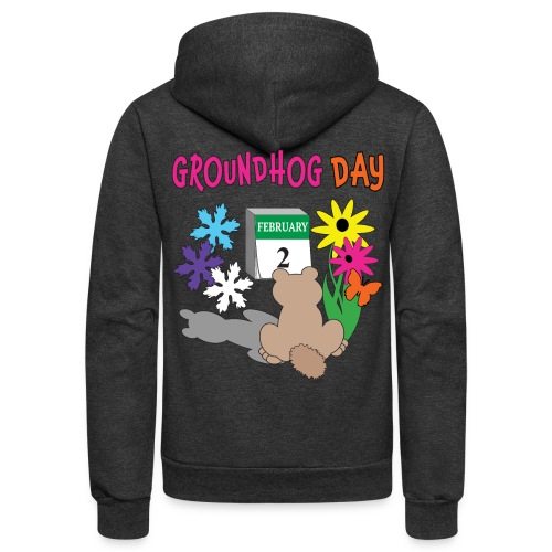 Groundhog Day Dilemma - Unisex Fleece Zip Hoodie