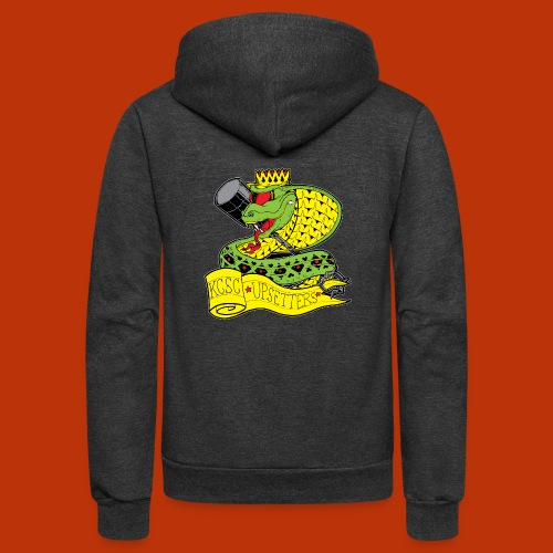 Upsetters Cobra - Unisex Fleece Zip Hoodie