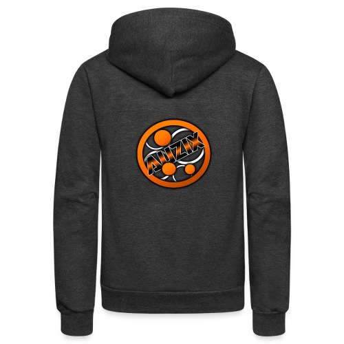 Auzix First shirt - Unisex Fleece Zip Hoodie