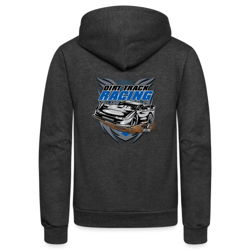 Modified Car Racer - Unisex Fleece Zip Hoodie