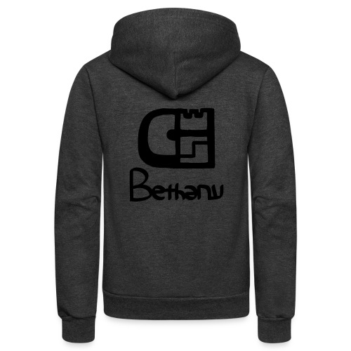 clothed with salvation - Unisex Fleece Zip Hoodie