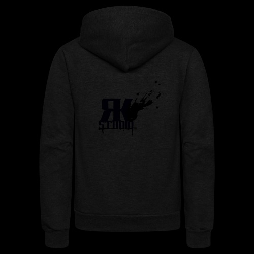 RKStudio Black Version - Unisex Fleece Zip Hoodie