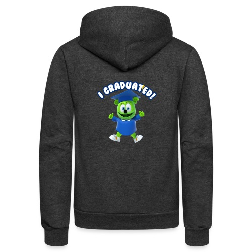 I Graduated! Gummibar (The Gummy Bear) - Unisex Fleece Zip Hoodie