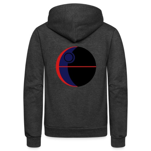 This Is Not A Moon - Unisex Fleece Zip Hoodie