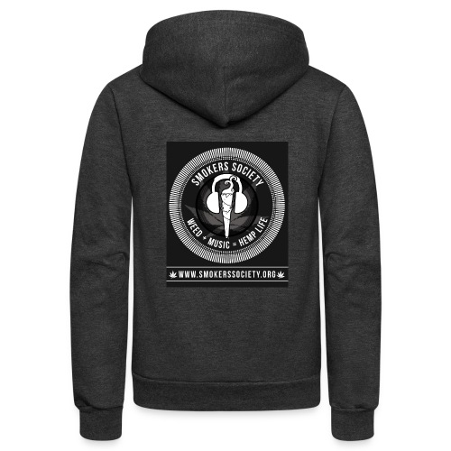 Smokers Society - Unisex Fleece Zip Hoodie