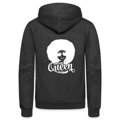 Black Queen - Unisex Fleece Zip Hoodie
