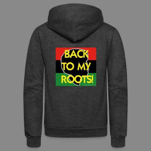 Back To My Roots - Unisex Fleece Zip Hoodie