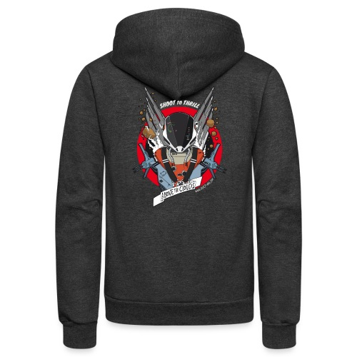 Space fighter color - Unisex Fleece Zip Hoodie