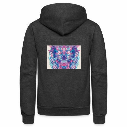Pretty Lion - Unisex Fleece Zip Hoodie