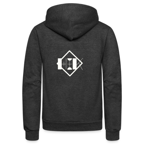 Hey it's Kiara merch - Unisex Fleece Zip Hoodie