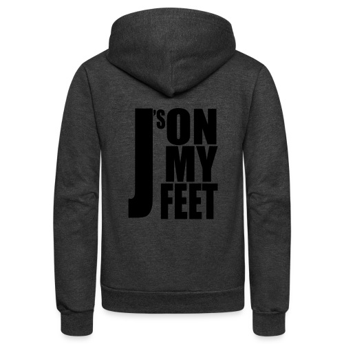 J's ON MY FEET 2 - Unisex Fleece Zip Hoodie