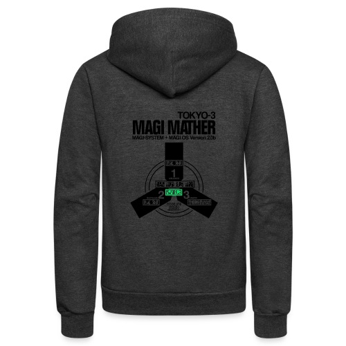 MAGI MATHER (WHITE) - Unisex Fleece Zip Hoodie