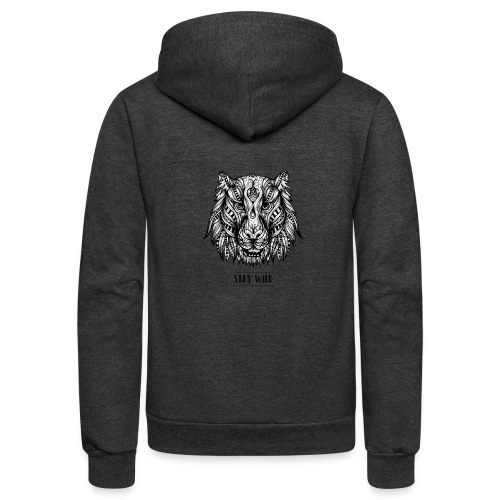 Stay Wild - Unisex Fleece Zip Hoodie