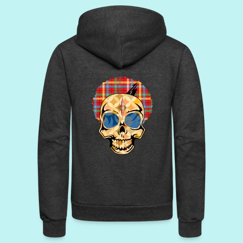 WIZ KHALIFA SKULLY - Unisex Fleece Zip Hoodie