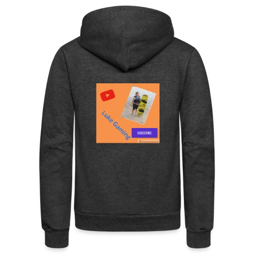 Luke Gaming T-Shirt - Unisex Fleece Zip Hoodie