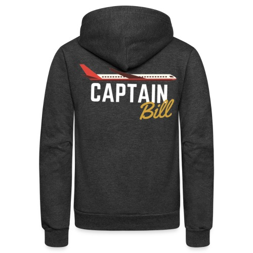 Captain Bill Avaition products - Unisex Fleece Zip Hoodie