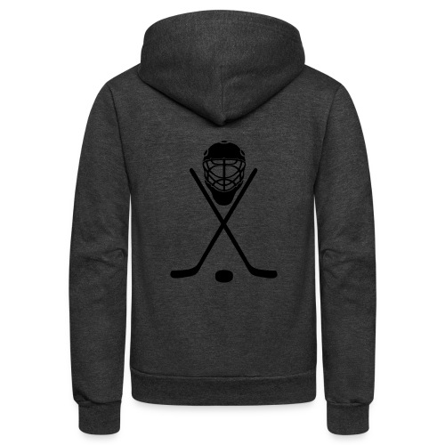 hockey - Unisex Fleece Zip Hoodie