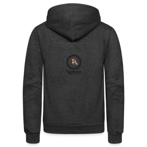 Reaper Nation - Unisex Fleece Zip Hoodie