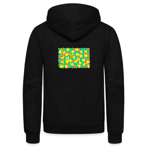 Dynamic movement - Unisex Fleece Zip Hoodie
