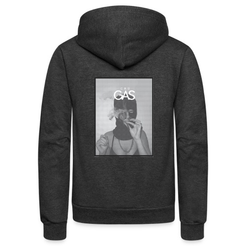 Smokin' on Gas - Unisex Fleece Zip Hoodie