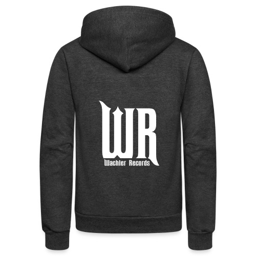 Wachler Records Light Logo - Unisex Fleece Zip Hoodie