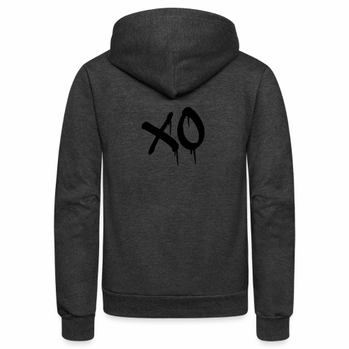 X O Design - Unisex Fleece Zip Hoodie
