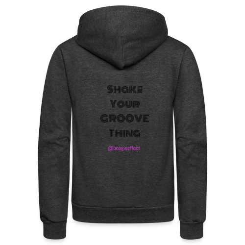Shake your groove thing dark - Unisex Fleece Zip Hoodie