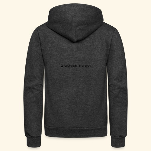 Worldwide Escapes - Unisex Fleece Zip Hoodie