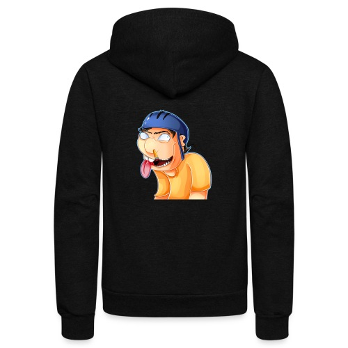 jeffy clipart - Unisex Fleece Zip Hoodie