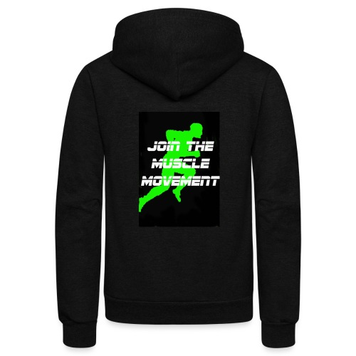 muscle movement - Unisex Fleece Zip Hoodie