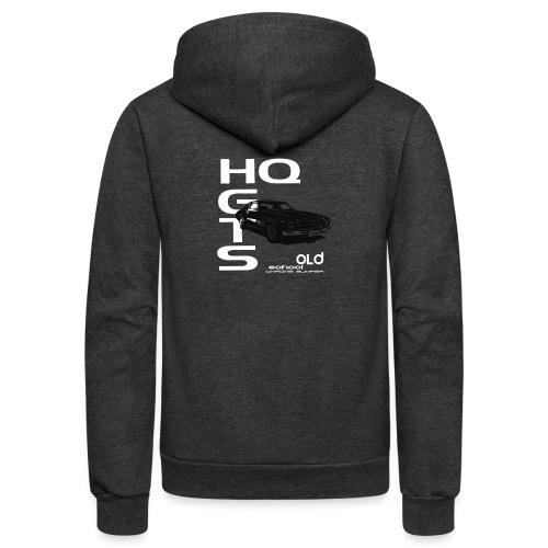 HQ TOWER - Unisex Fleece Zip Hoodie