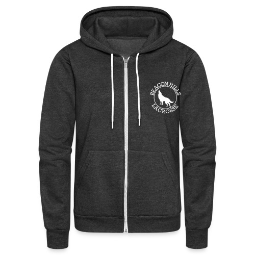 BEACONS HILL LACROSSE Logo - Unisex Fleece Zip Hoodie