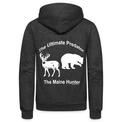 Ultimate Predator - Unisex Fleece Zip Hoodie