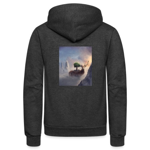 animal - Unisex Fleece Zip Hoodie