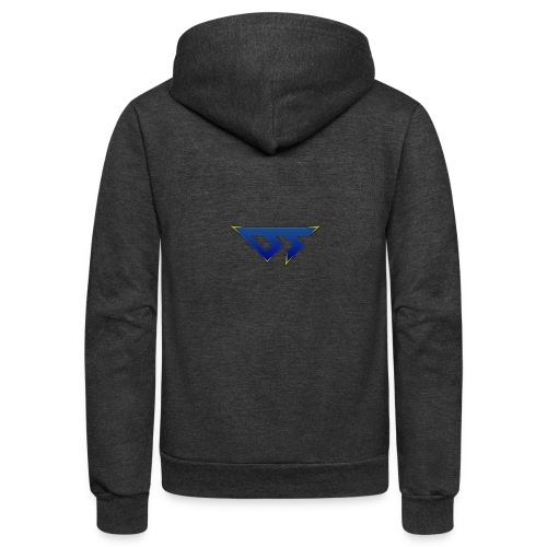 DetermineD T-Shirt - Unisex Fleece Zip Hoodie