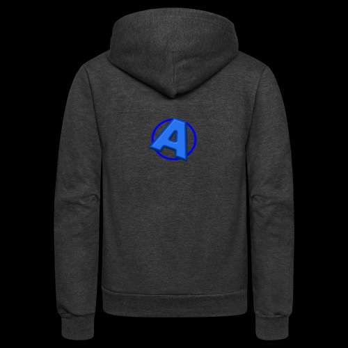 Awesomegamer Logo - Unisex Fleece Zip Hoodie