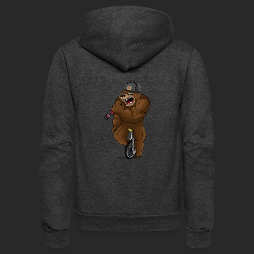 Russian Bear - Unisex Fleece Zip Hoodie
