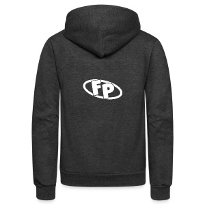 Secondary FRESHPOPCORN Logo - Unisex Fleece Zip Hoodie