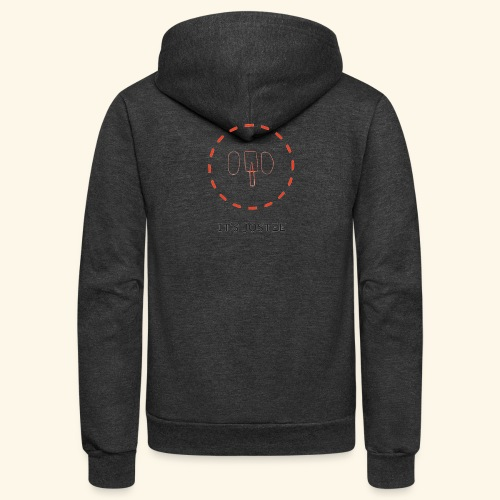 It's jostee NeonElephant. - Unisex Fleece Zip Hoodie