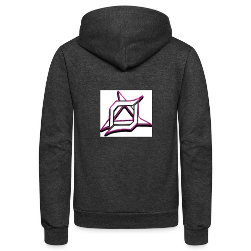 Oma Alliance Pink - Unisex Fleece Zip Hoodie