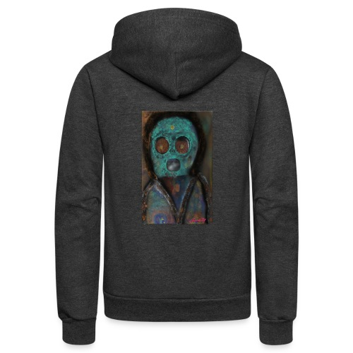 The galactic space monkey - Unisex Fleece Zip Hoodie