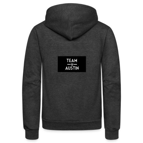 Team Austin Youtube Fan Base - Unisex Fleece Zip Hoodie