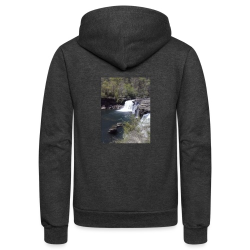 LRC waterfall - Unisex Fleece Zip Hoodie