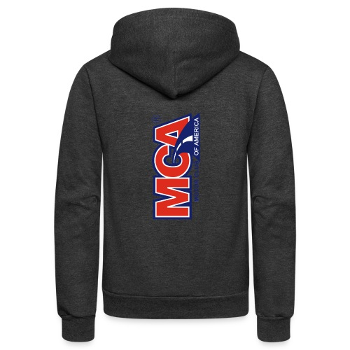 MCA Logo Iphone png - Unisex Fleece Zip Hoodie
