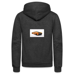 ChillBrosGaming Chill Like This Car - Unisex Fleece Zip Hoodie